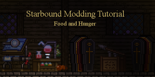 Image: Starbound Screenshot with text Starbound Tutorial