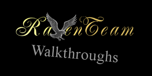 Logo and Text: Raventeam Walkthroughs